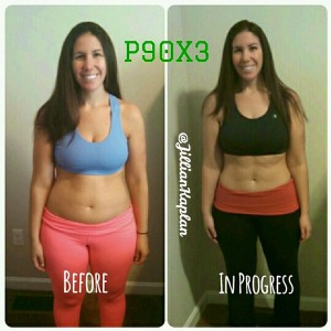 P90X3 Results Front